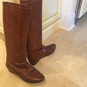 Loeffler Randall Matilde Boots Cognac 37/7 Used