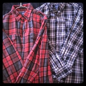 Other - XL Long sleeved Flannel shirts