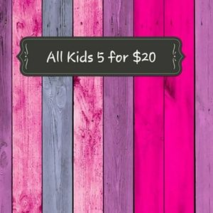 Other - Kids Clothing 5 for $20