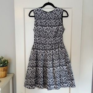 Fit & Flare Leopard Party Dress