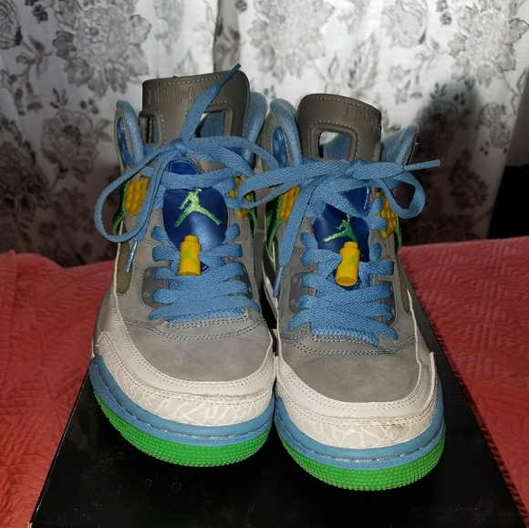 572217dc70dd6a Nike Jordan Spizike Easter Mens 8 Used. M 59d15c4f6d64bc2b850af031