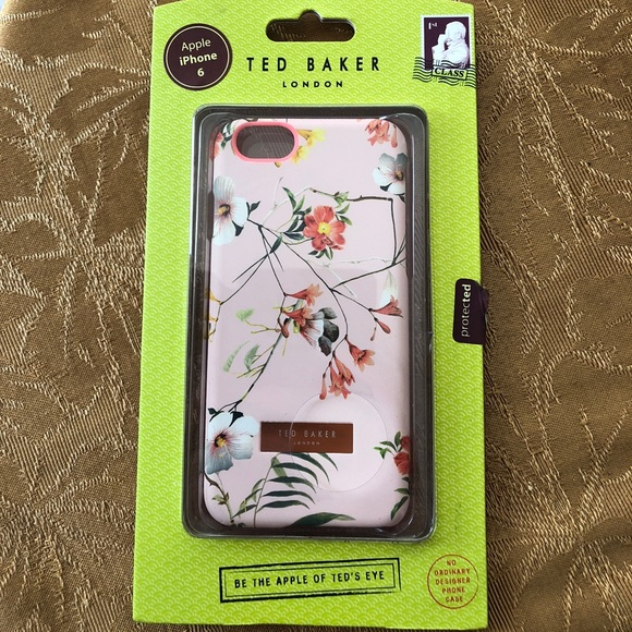 Ted Baker Accessories - Ted Baker iPhone 6 case simeto pink floral snap on