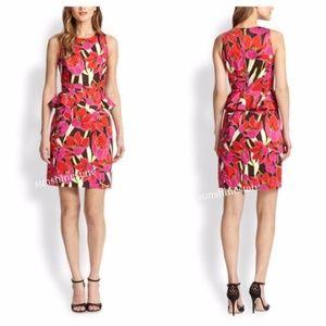 Kate Spade Tropical Peplum Dress