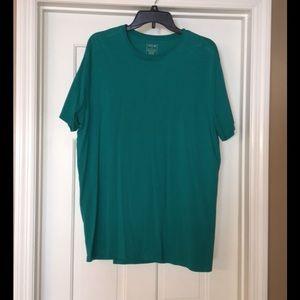 Men's teal shirt