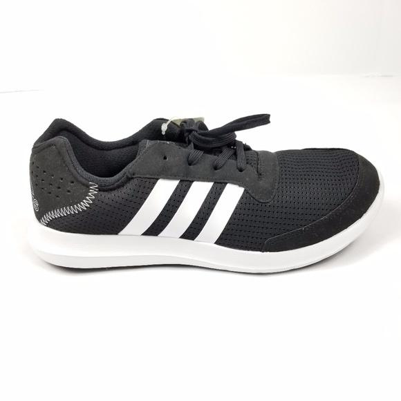 2e27d442a64 Adidas Mens Size 10 Element Refresh Black White