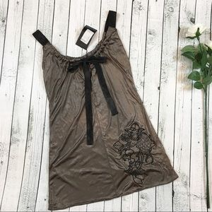 """NWT ⚡️ Salvage """"Overpower"""" Keyhole Tunic / Dress"""