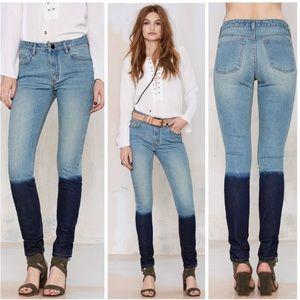 🍁BOGO❗️ Nasty Gal Dip Dye Skinny Jeans