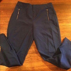 Missguided cobalt blue straight leg pants