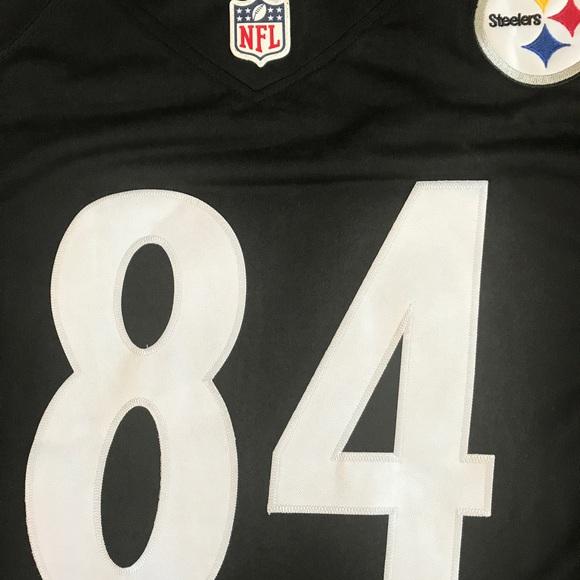 detailed look f690f 01705 Antonio brown #84 Steelers Elite Jerseys NWT NWT