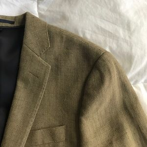 J. Crew Ludlow blazer in silk linen herringbone