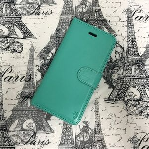 Accessories - iPhone 6 Mint Green Wallet Case