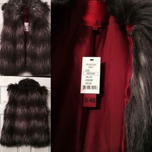 Jackets & Blazers - New With Tag - Faux Fur Vest