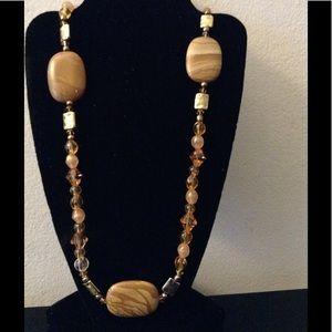 Jewelry - Brown Stone Necklace