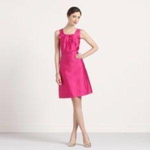 Kate Spade Bette pink satin dress