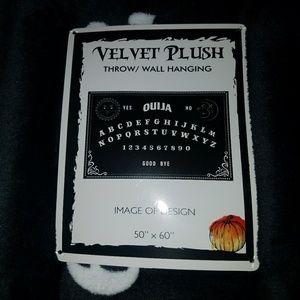 Other - 🎃Rare New Ouija Velvet Luxury Plush Throw 50x60🕸