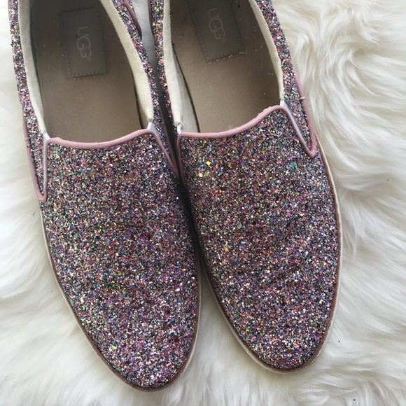 7afe7f3519c UGG Adley Chunky Glitter Slip-On