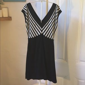 Sandro Dresses - Sandro black and white striped dress