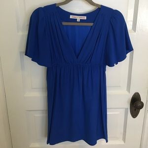 Dresses & Skirts - Amanda Prichard blue silk dress