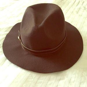 Brown Floppy Hat