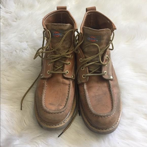 451c2baa91a Dickies tan work boots
