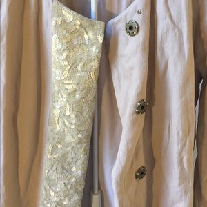 Gryphon Jackets & Coats - Gryphon sequined trench coat M