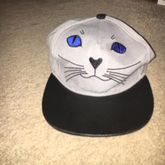 39fa26e79 snapback cat hat.