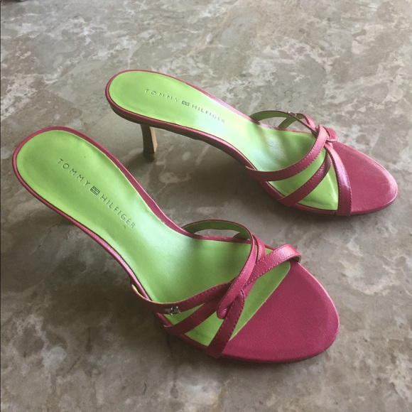 32e0f5fd5bc Tommy Hilfiger pink sandals. M 59d17b0799086aa1fa0b64a5