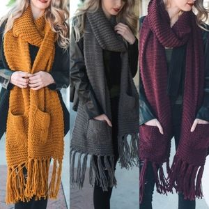 JOHNNIE Autumn Wonders Scarf
