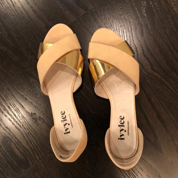 Ivylee Copenhagen Pixie Sandals Size