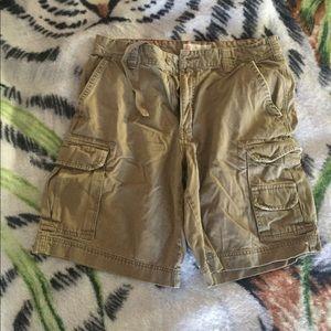 Cargo shorts!!