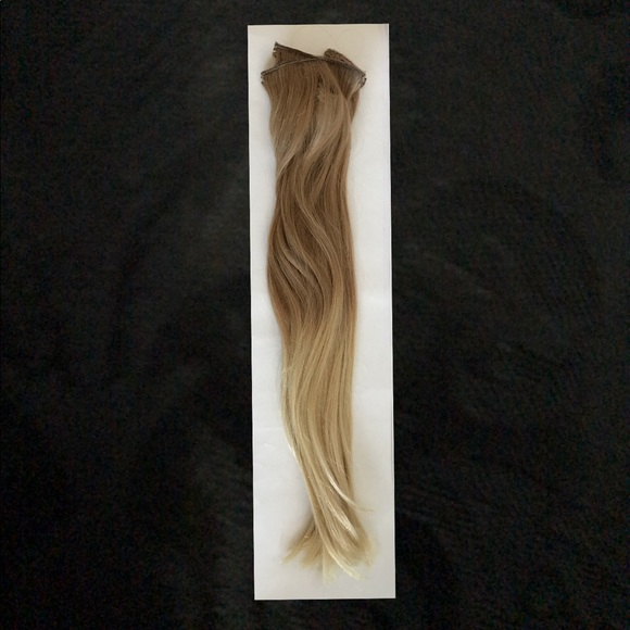 Zala Accessories Clipin Hair Extensions 20 In Blonde Balayage