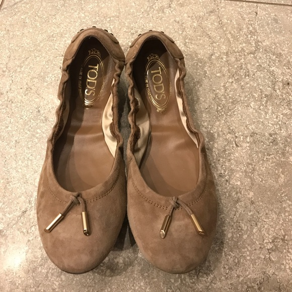 62249e84cf03 M 59d1831a7f0a05f3d80b9077. Other Shoes you may like. Tod s ballet flats.  Tod s ballet flats.  65  395. Tod s Leather Pointed Toe Penny Loafers 9.5