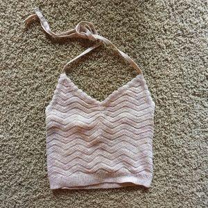 Aerie Crochet Crop Halter