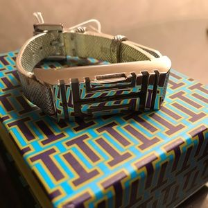 *FINAL PRICE* Tory Burch Fitbit Leather Bracelet