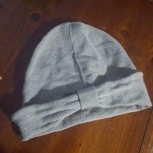 Cute gray winter hat