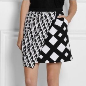Printed wrap mini skirt. Peter Pilotto for Target