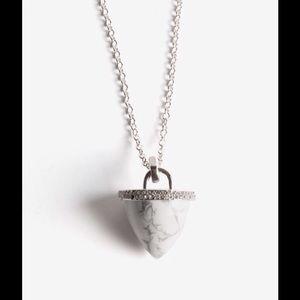 Rebecca Minkoff Acorn Pendant  Necklace