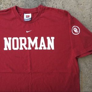 Nike Shirts - ❌SOLD❌Oklahoma Sooners Norman Crimson Cream Shirt