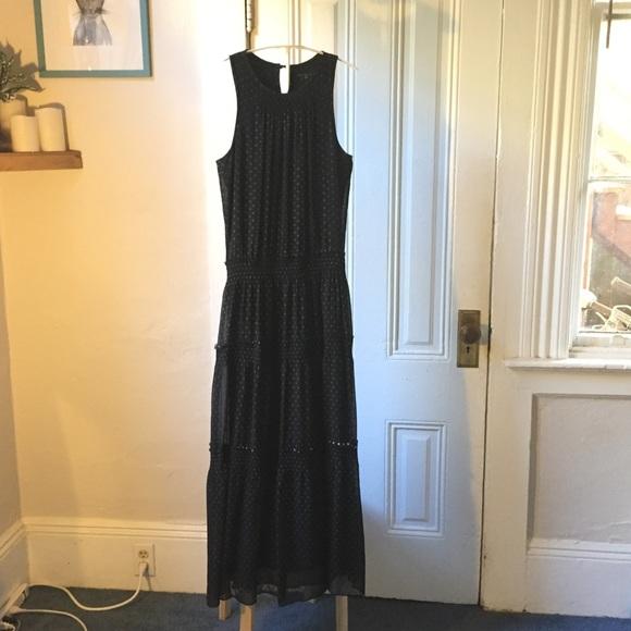 Theory Dresses - Theory Izella black tiered maxi dress 6