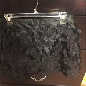 Kardashian Kollection Feather Mini Skirt
