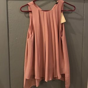 Doe & Rae Top. Salmon colored