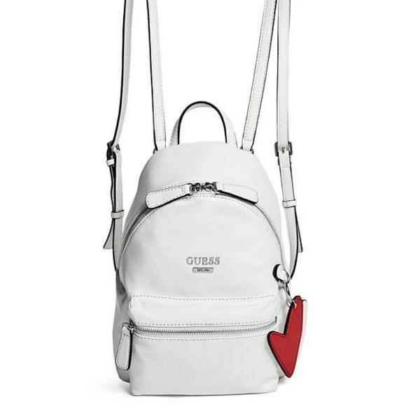 500f69b4e8af Guess leather mini backpack