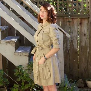 Marc Jacobs trench coat dress M