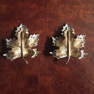 Fall Maple Leaf Earrings SarahCov