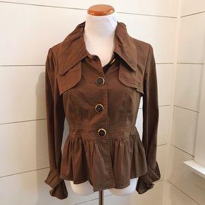 Nordstrom LAL Brown/Rust colored jacket/ blazer