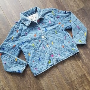 Tantrums Jean Multi-colored button string jacket