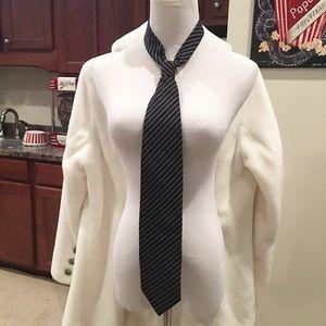 Black Striped Giorgio Armani Tie