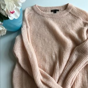 Light peachy pink MNG sweater
