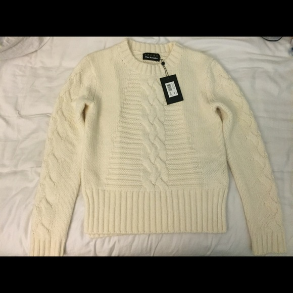 The Kooples Sport Cable Knit Sweater XS 71858ccb9