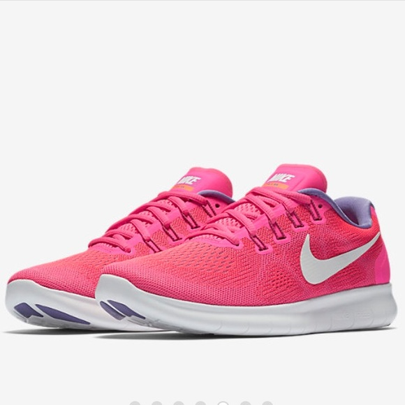 online store eeab5 47449 Nike Free RN 2017 Women's Running Shoe Pink